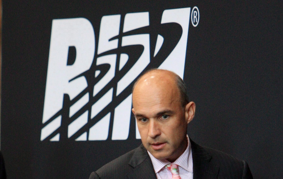 Research in Motion executive Jim Balsillie is shown in a July 12, 2011 file photo. (Dave Chidley/THE CANADIAN PRESS)