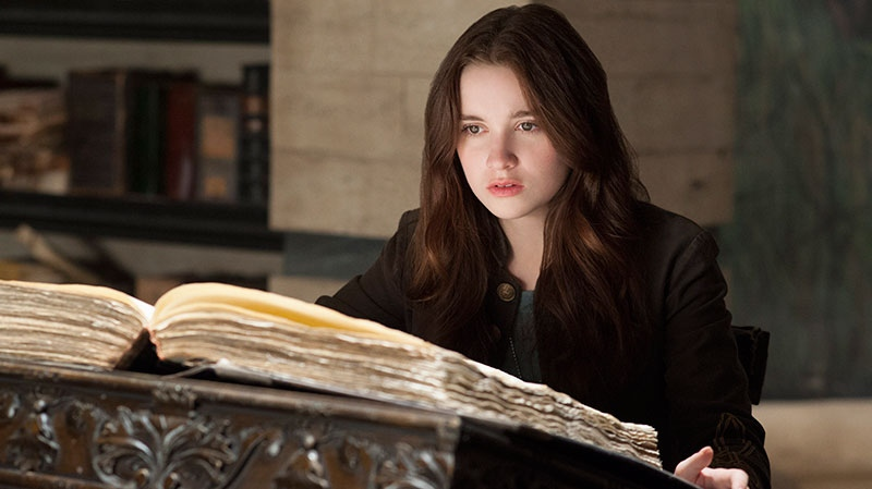 Alice Englert in a scene from Warner Bros. Pictures' 'Beautiful Creatures'
