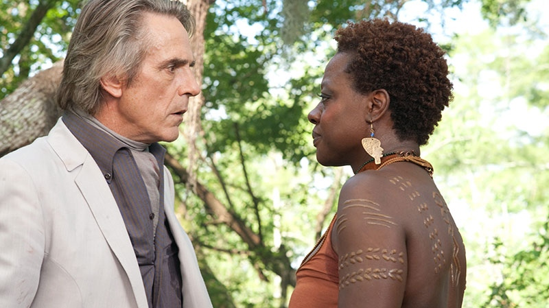 Jeremy Irons, left, and Viola Davis in a scene from Warner Bros. Pictures' 'Beautiful Creatures'