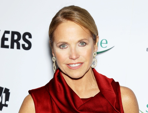 Katie Couric on Feb. 6, 2013.