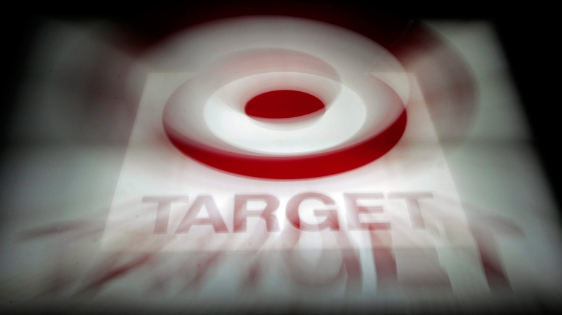 A zoom lens creates an effect on this photo of a Target store in Montgomery, Alabama, Nov. 16, 2010. Target is expanding north, agreeing to acquire most leases of Zellers. (AP / Dave Martin)