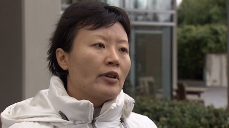 Janet Tan has started a petition against a hospice planned for the UBC campus. Jan. 13, 2011. (CTV)