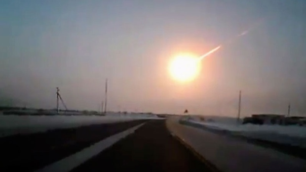 Surprise meteor shocks Russia