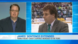 CTV News Channel: James' sentence extended