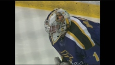Laurier faces Guelph in OUA men's hockey playoffs.
