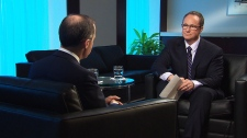 Mark Carney and Kevin Newman speak in exclusive