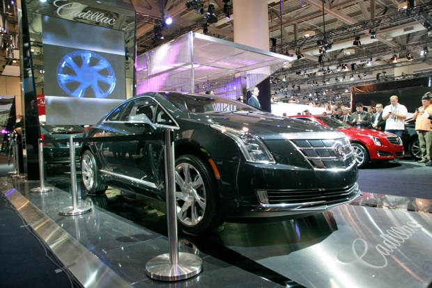 The Cadillac ELR Concept appears at the Canadian International Auto Show. (Bill Wang/CTVNews.ca)