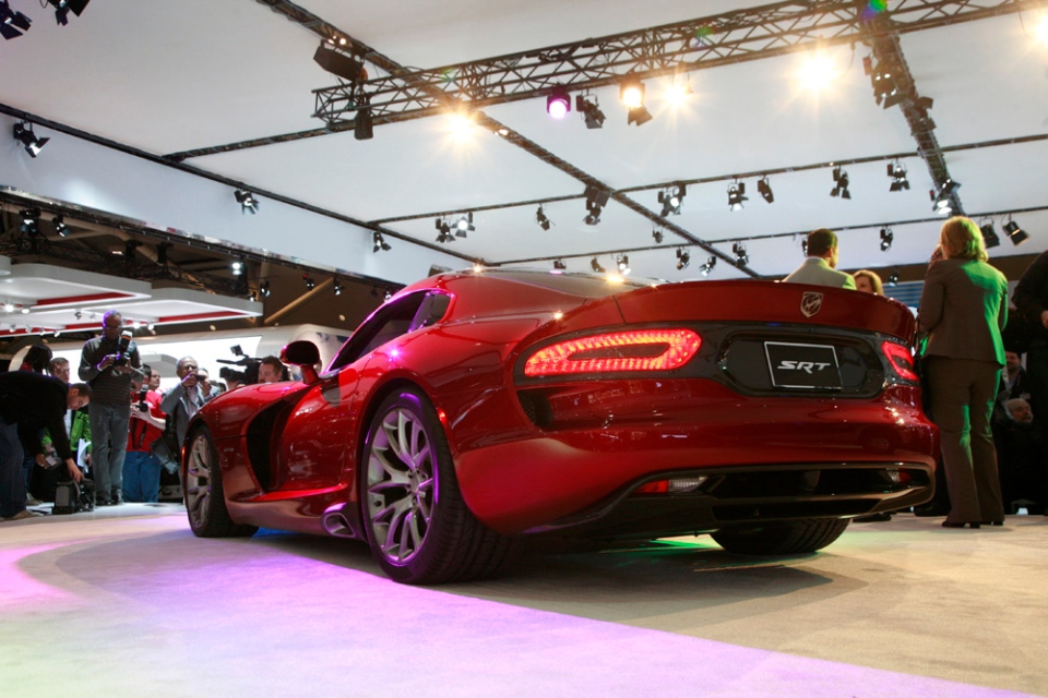 The Viper SRT appears at the Canadian International Auto Show. (Bill Wang/CTVNews.ca)