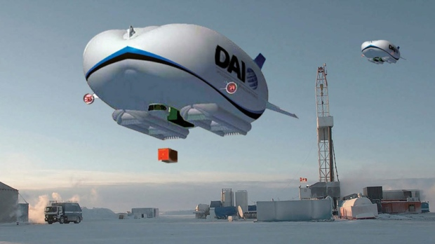 Blimps considered for remote communities