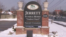 Jerrett Funeral Homes at 8088 Yonge St. in Thornhill will host visitations for Toronto police Sgt. Ryan Russell, killed in the line of duty.