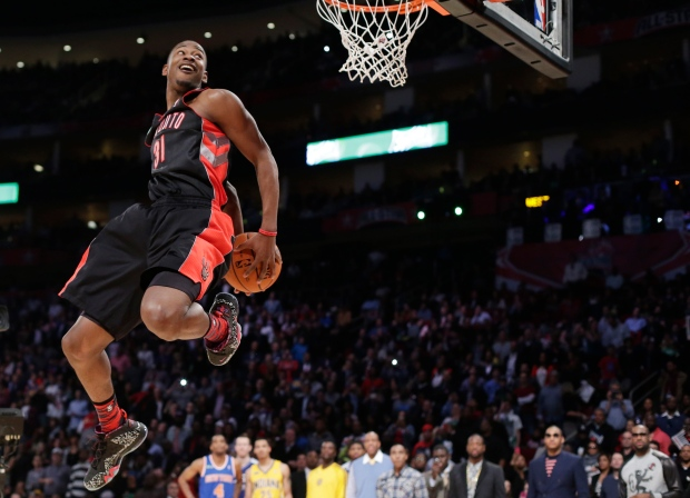 Terrence Ross wins All-Star dunk contest