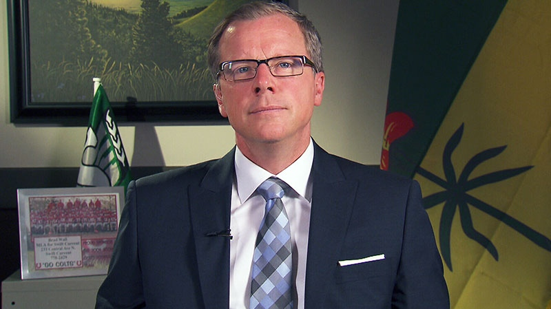 Saskatchewan Premier Brad Wall appears on CTV's Question Period on Sunday, Feb. 17, 2013.
