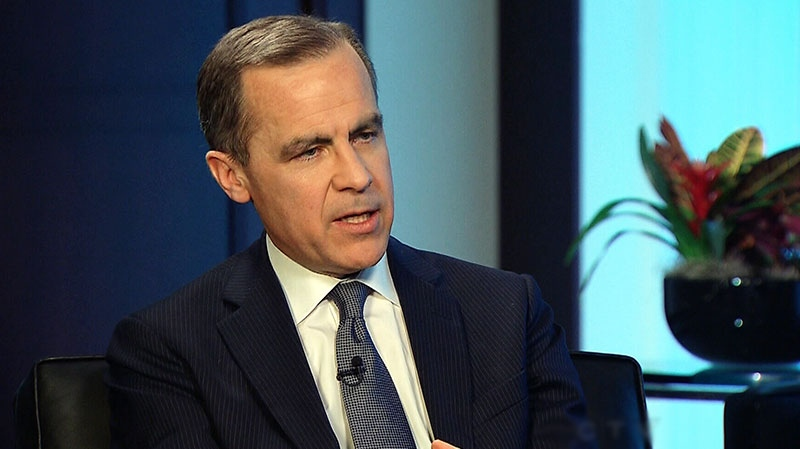 Bank of Canada Governor Mark Carney appears on CTV's Question Period on Sunday, Feb. 17, 2013.