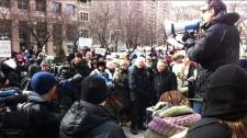 anti-bill 14 rally
