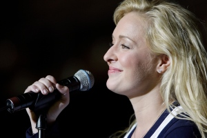 In this undated file photo, country singer Mindy McCready performs in Nashville, Tenn. (AP Photo/Mark Humphrey)