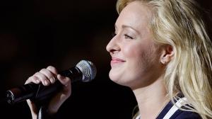 Country singer Mindy McCready performs in Nashville, Tenn. (AP / Mark Humphrey)