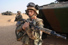 Mali French Troops military training