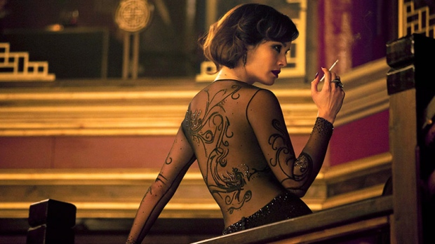Berenice Marlohe in a scene from Skyfall