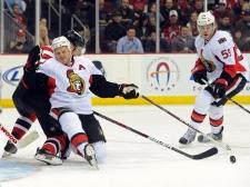 Ottawa Senators' Chris Neil