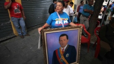President Hugo Chavez returns to Venezuela