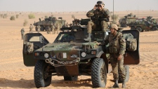 Mali, French troops