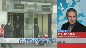 CTV News Channel: Dramatic jewellery theft