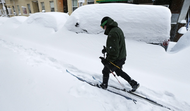 Global warming can mean less snow, more blizzards