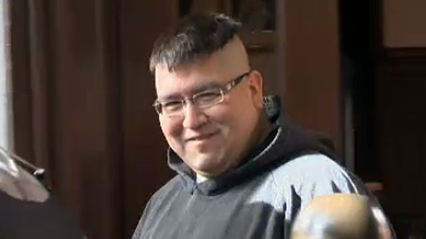 Andre Noel Denny appears in Halifax provincial court on February 19, 2013. (CTV Atlantic)