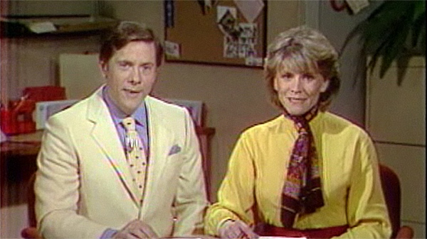 Bill Haugland and Marilyn Weston were the hosts of As It Is, which ran for more than 15 years.