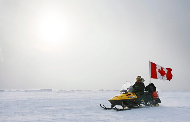 Canadian Ranger snowmobile