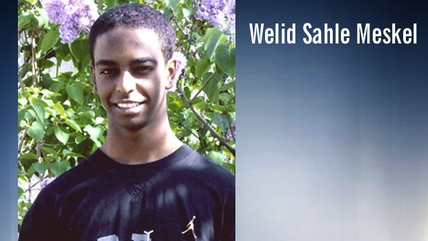 Welid Sahle Meskel, 22, is shown in an undated photo. Supplied.