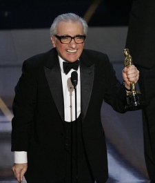 Martin Scorsese accepts the Oscar for best director for his work on 'The Departed' at the 79th Academy Awards. (AP / Mark J. Terrill)