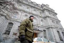 Montreal raid City Hall