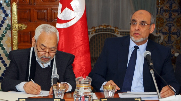Tunisian Prime Minister Hamadi Jebali steps down