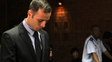 Oscar Pistoriue denied bail at murder trial