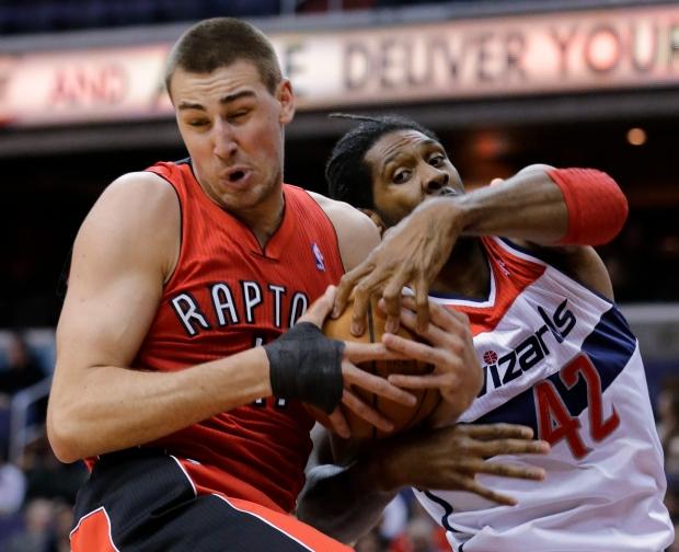 Raptors beat Washington Wizards 96-88