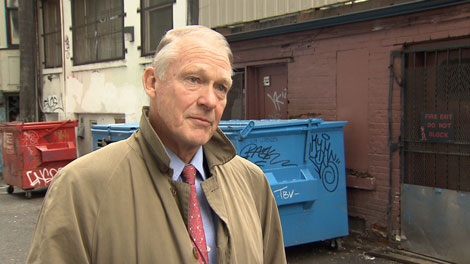 Streetohome Chairman John McLernon is lobbying to raise $26.5 million to end homelessness in Vancouver. Jan. 18, 2011. (CTV)