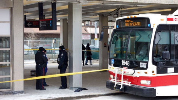 Dundas West Station stabbing