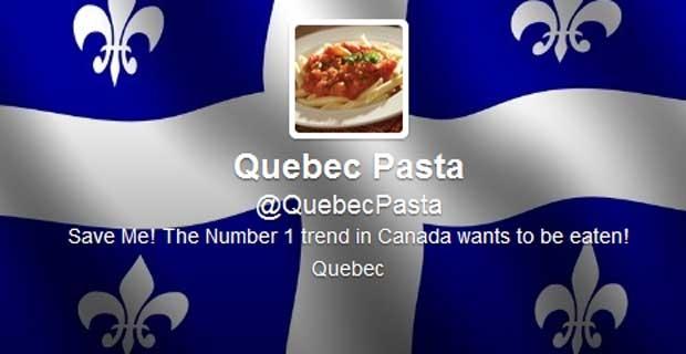 Quebec Pasta