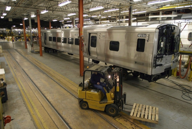 Bombardier reports weak rail results