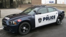 A new Sarnia police cruiser is shown in this photo released by police on Thursday, Feb. 21, 2013.