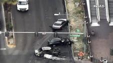 Deadly car-to-car shooting on Las Vegas strip
