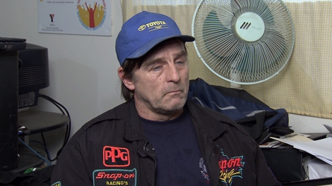 Gary Crumley has had his run-ins with the law over the 25 years he�s been homeless -- and now his life is changing. (CTV)