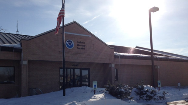 Officials in Grand Forks, N.D. released information on the spring flood outlook there on Feb. 21, 2013.