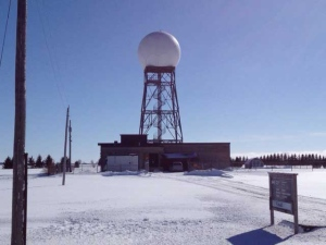 Exeter radar station