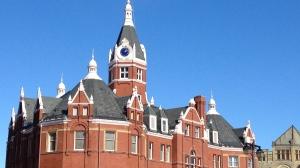 Stratford City Hall is seen on Thursday, Feb. 21, 2013. (David Imrie / CTV Kitchener)
