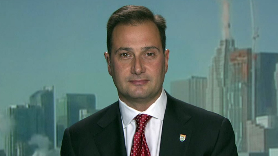 Prince Edward Island Premier Robert Ghiz appears on CTV's Power Play on Thursday, Feb. 21, 2013.