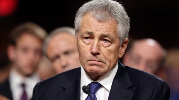Republican Chuck Hagel