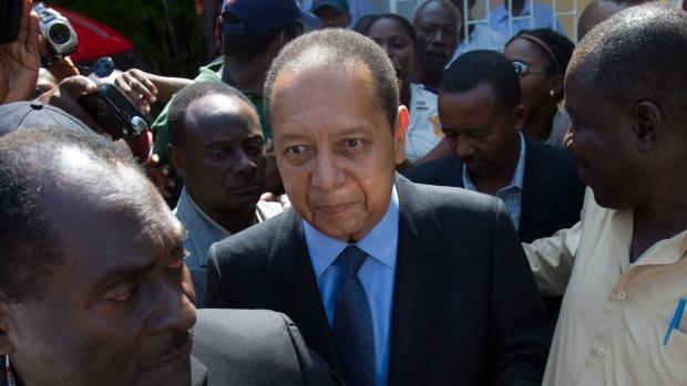 Former Haitian Dictator Jean-Claude Duvalier