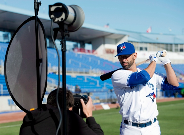 Jose Bautista Blue Jays music clubhouse